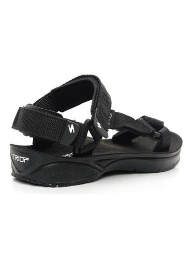 Triop Sandalet Siyah
